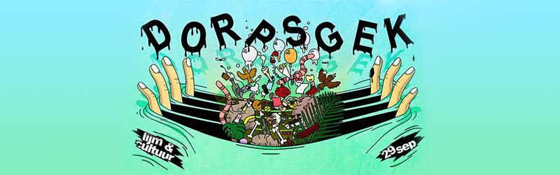 Dorpsgek festival bij Lijm & Cultuur